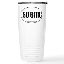 50BMG oval sticker PATHS.eps Travel Mug