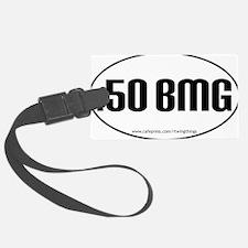 50BMG oval sticker PATHS.eps Luggage Tag
