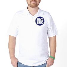 circle big bro blue T-Shirt