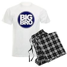 circle big bro blue Pajamas