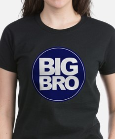 circle big bro blue Tee