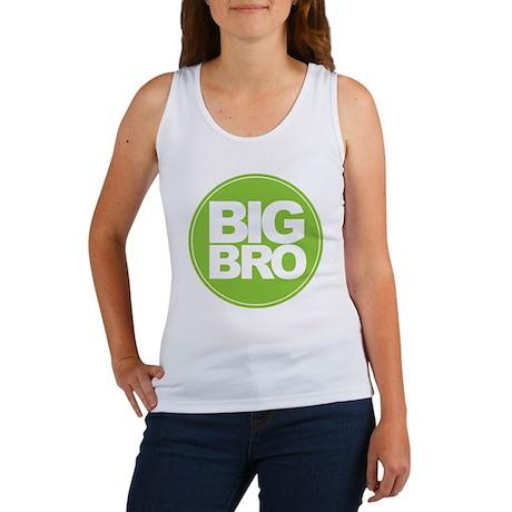 circle big bro green Women's Tank Top