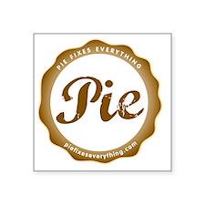 "Cafe Press Logo Big Photo S Square Sticker 3"" x 3"""