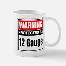Warning 12 Gauge Mugs