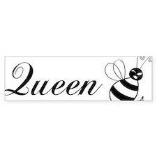 queenbee-black Bumper Sticker
