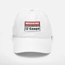 Warning 12 Gauge Baseball Baseball Cap
