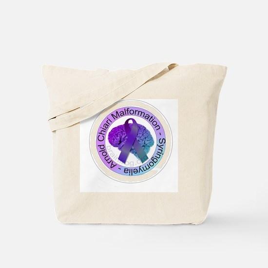 ChiariSyringoButton Tote Bag