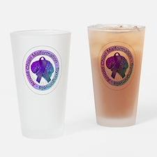 ChiariSyringoButton Drinking Glass