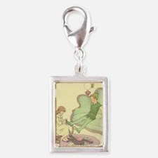 nursery peter pan Silver Portrait Charm