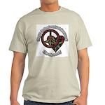 Tie Dye Art Ash Grey T-Shirt