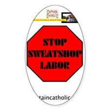 4-Captain Catholic Wants YOU - Stop Decal