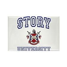 STORY University Rectangle Magnet