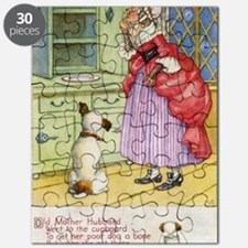 Old Mother Hubbard Vintage Board Puzzle
