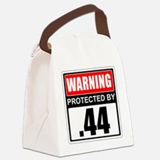 Warning .44 Canvas Lunch Bag