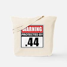 Warning .44 Tote Bag