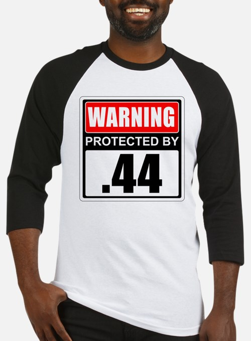 Warning .44 Baseball Jersey