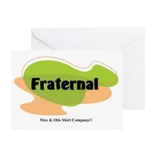 2-fraternal Greeting Card