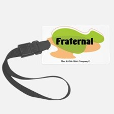 2-fraternal Luggage Tag