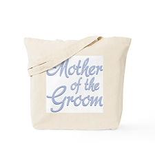 Amore Mother Groom Blue Tote Bag