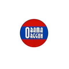 Oregon for Barack Obama Campaign Pin