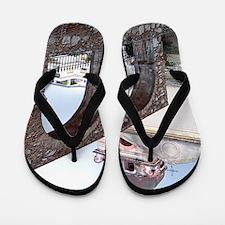 taormina_print_1 Flip Flops