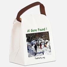 alFound Canvas Lunch Bag