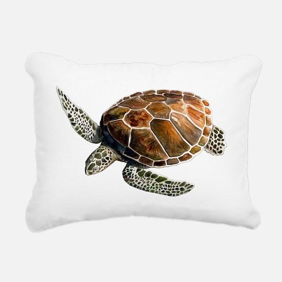 greenturtletrans Rectangular Canvas Pillow