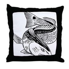 dragondrumtrans Throw Pillow