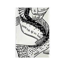 dragonspecktrans Rectangle Magnet