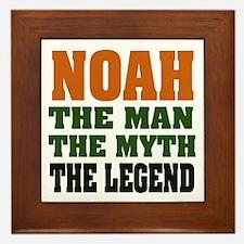 NOAH - the legend! Framed Tile