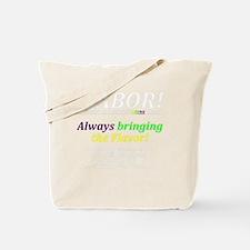 3-Latisianaribean Fusion T Tote Bag