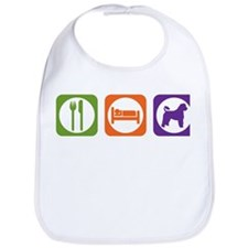 Eat Sleep Portuguese Bib