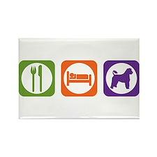 Eat Sleep Portuguese Rectangle Magnet
