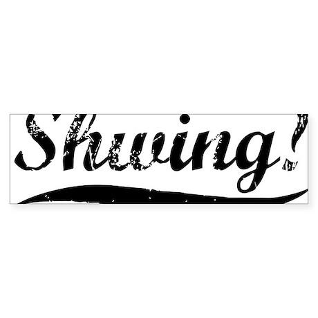 Shwing-(white-shirt) Sticker (Bumper)