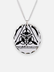 Emblem-Transparent-Black Necklace