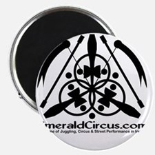 Emblem-Transparent-Black Magnet