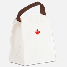 Canadian Thing -dark Canvas Lunch Bag