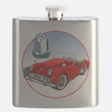 TR3-RED-C8trans Flask
