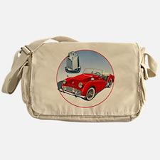 TR3-RED-C8trans Messenger Bag