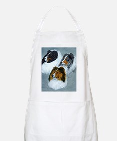 three heads square Apron