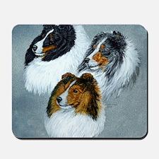 three heads square Mousepad