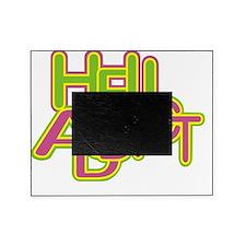heli addict black Picture Frame