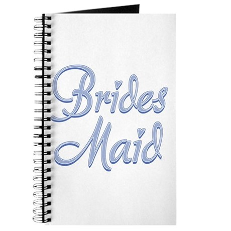Amore Bridesmaid Blue Journal