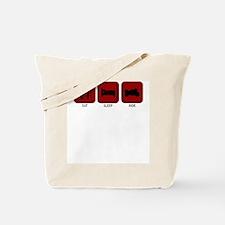 Eat, Sleep, Ride Tote Bag