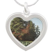 EveningFlight_cafefinal Silver Heart Necklace