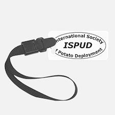 ISPUD logo Luggage Tag