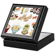 Kawaii Sushi Ban Cafe Keepsake Box