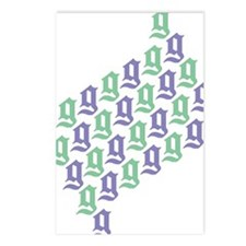 2-28gpurpgreen Postcards (Package of 8)