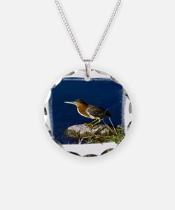 (16) Green-Backed Heron Necklace