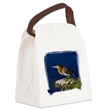 (16) Green-Backed Heron Canvas Lunch Bag
